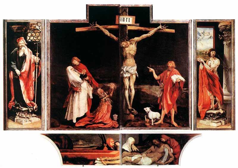 Grunewald's-Isenheim-Altarpiece