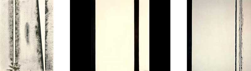 Barnett Newman Stations of the Cross
